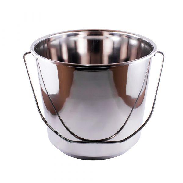 balde de acero